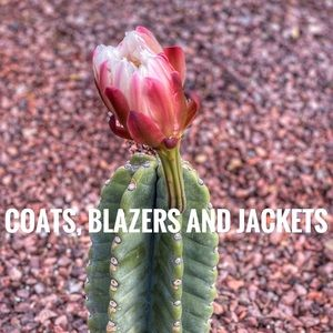 Jackets, Coats and Blazers.